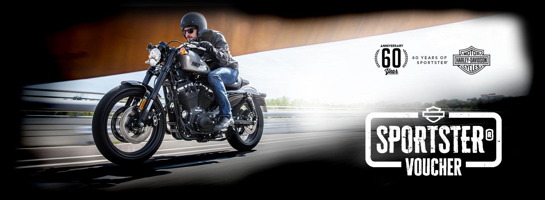 Voucher na motorky Harley-Davidson Sportster 2017