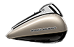Motocykel Harley-Davidson touring Street Glide Special farba Silver Fortune / Black Tempest