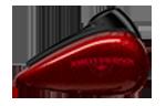 Motocykel Harley-Davidson touring Street Glide Special farba Hard Candy Hot Rod Red Flake