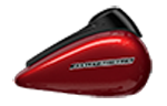 Motocykel Harley-Davidson touring Street Glide Special farba Wicked Red