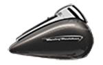 Motocykel Harley-Davidson touring Road Glide Ultra farba Industrial Gray