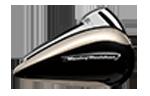 motocykle-harley-davidson-bratislava-touring-road-glide-ultra-farba-Silver Fortune - Black Tempest