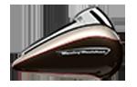 motocykle-harley-davidson-bratislava-touring-road-glide-ultra-farba-Silver Fortune - Sumatra Brown