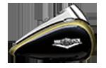 motocykle-harley-davidson-bratislava-touring-road-king-farba-Olive Gold & Black Tempest