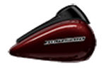 Motocykel Harley-Davidson touring Street Glide Special farba Twisted Cherry