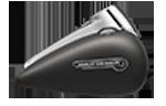 Trojkolka Harley-Davidson Freewheeler® farba Industrial Gray Denim