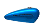 Motocykel Harley-Davidson Street Rod 750 farba Electric Blue