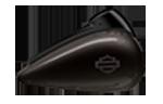 Motocykel CVO Limited model 2018 farba Black Earth Fade