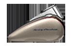 Motocykle Harley-Davidson Bratislava Softail Deluxe farba Silver Fortune / Sumatra Brown