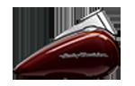 Motocykle Harley-Davidson Bratislava Softail Deluxe farba Twisted Cherry