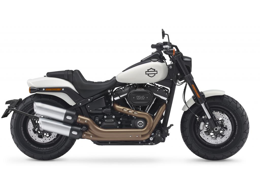 Motocykel Harley-Davidson Softail Fat Bob 114