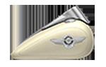 Motocykle Harley-Davidson Bratislava Softail Fat Boy farba Bonneville Salt Pearl