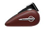 Motocykle Harley-Davidson Bratislava Softail Slim farba Red Iron Denim