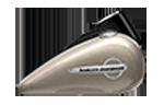 Motocykle Harley-Davidson Bratislava Softail Slim farba Silver Fortune