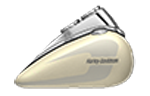 Motocykel Harley-Davidson Softail FXBB Low Rider model 2018 farba Bonneville Salt Pearl