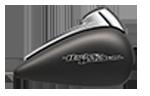 Motocykel Harley-Davidson touring Street Glide farba Industrial Gray Denim
