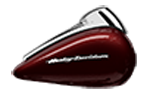 Motocykel Harley-Davidson touring Road Glide Ultra farba Twisted Cherry