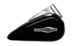 Novinky 2018 Softail Sport Glide Harley-Davidson Bratatislava farba Vivid Black