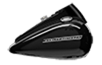 Motocykel Harley-Davidson Touring Road King Special model 2018 farba Vivid Black