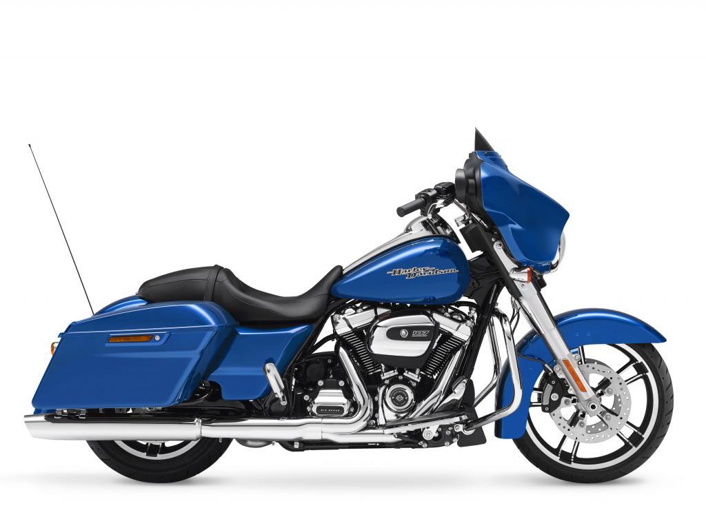 Motocykel Harley-Davidson touring Street Glide