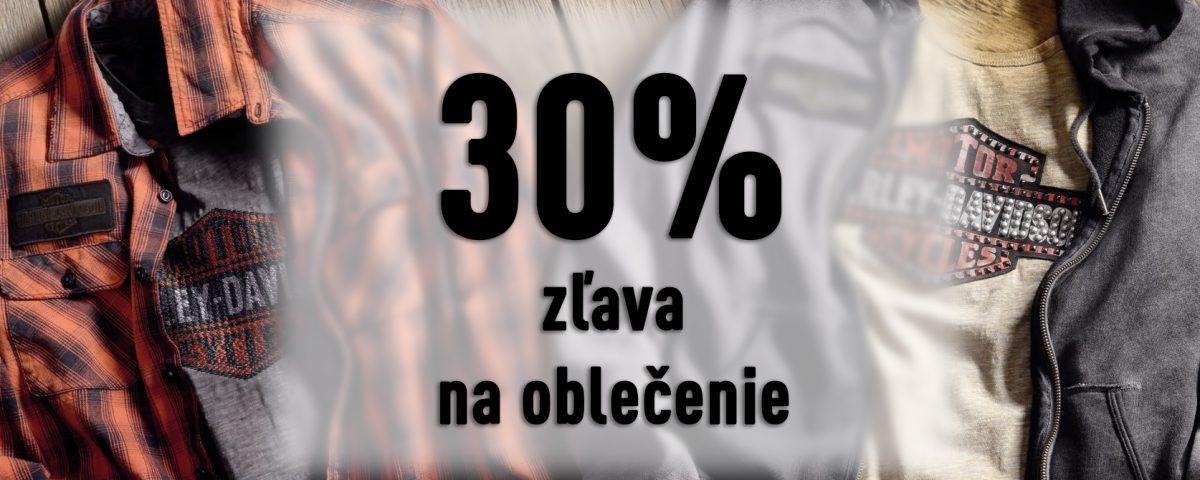 30 percent zľava